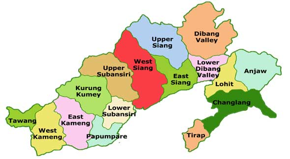 facts about arunachal pradesh