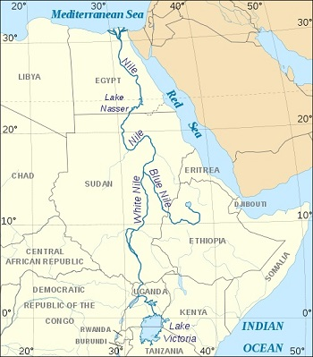 Major Rivers Of World List Of Major Rivers QuickGScom - African rivers by length