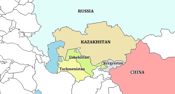 List of largest landlocked countries of world quickgs kazakhstan largest landlocked countries of world publicscrutiny Image collections