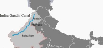 List of Major Canals of India