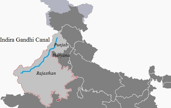 Major Canals of India